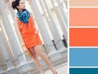Цветовое сочетание: лучшие изображения (1281) | Цветовые ...
