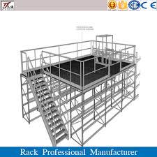 office structure prefabricated steel mezzanine floor agri office mezzanine floor