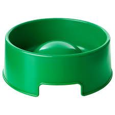 ЛУРВИГ <b>Миска</b> для медленного поедания корма, зеленый, <b>1.2 л</b> ...