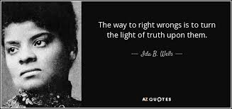TOP 25 QUOTES BY IDA B. WELLS | A-Z Quotes