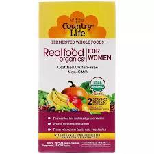 Country Life <b>Women's</b> Multivitamin <b>Realfood Organics</b>