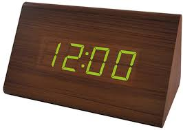 "<b>Perfeo</b> LED <b>часы</b>-будильник ""<b>Block</b>"", чёрный корпус / красная ..."