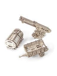 <b>Конструктор 3D-пазл Ugears</b> - <b>Дополнение</b> к грузовику UGM-11 ...