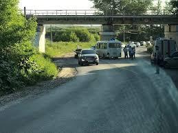 В Туле автобус въехал в <b>опору</b> моста: пострадали восемь человек