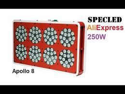 Apollo 8. <b>Светодиодная фитолампа</b> 250Вт или 600Вт китайских ...