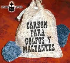 Resultado de imagen de Reyes Magos con carbon para el gobierno