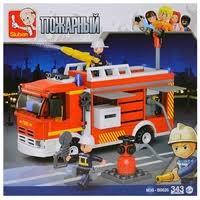 <b>Конструктор SLUBAN Пожарные спасатели</b> M38-B0626 ...