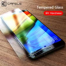 <b>Cafele Tempered Glass</b> Screen Protector for Xiaomi 5 5s 6 8 9 A1 ...