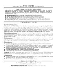 supervisor resume samples resume format  templates wordfood service supervisor resume 1000