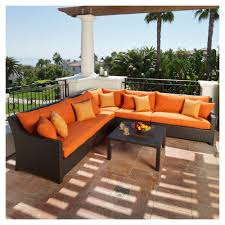 patio couch set deco patio furniture by rst brands turns any backyard into a destination retreat view larger