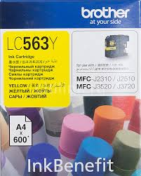 Купить <b>Картридж BROTHER</b> LC563Y, желтый в интернет ...
