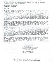 william branham and roy e davis imperial wizard of the ku klux 1959 klan letter