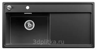 <b>Мойка кухонная Blanco</b> Zenar XL 6 S-F <b>523909</b> антрацит R 50х100