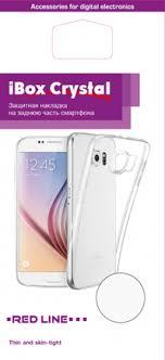 Купить <b>Клип</b>-<b>кейс Red Line iBox Crystal</b> для Samsung Galaxy J3 ...
