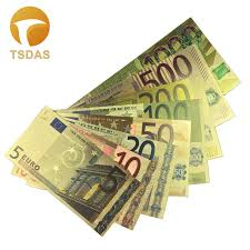 <b>10Pcs</b>/<b>Lot</b> USA Gold Banknote <b>1</b> Million Dollar Banknotes in 24K ...