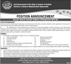 jobs in azad govt of the state of jammu kashmir current jobs in azad gobt of the state of jammu kashmir