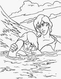 Small Picture Coloring Pages Best Images About Little Mermaid Colouring Page On