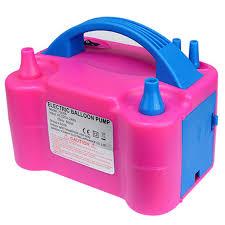 220v Eu Plug <b>Double Hole Ac Inflatable</b> Electric Balloon Pump Air ...