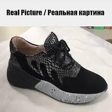 <b>DORATASIA</b> 2019 <b>New</b> Genuine Leather Suede Casual Sneakers ...