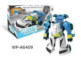 <b>Робот</b>-<b>трансформер JUNFA</b> световые и звуковые эффекты ...