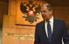 Risultati immagini per ministro degli esteri russo