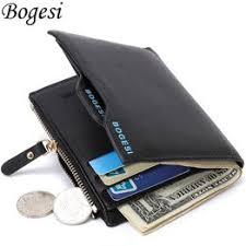 Bogesi Short Male Card Holder Designer Famous Brand ... - Vova
