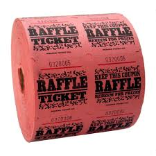 raffle tickets pink raffle tickets