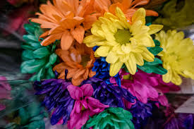 How to Make <b>Colored Flowers</b>