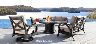 aluminium patio cover surrey: milano best designer cast aluminum patio furniture