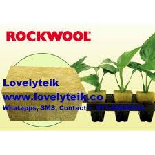 80kg/m3 Hydroponic Germination Seeding <b>Rockwool</b> Horticulture ...
