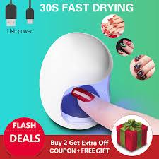 <b>Egg Shape 3W UV</b> LED Lamp for Nail Single Finger Lamp Nail Gel ...