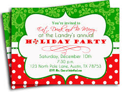 christmas party invitations be jolly and unique your christmas party invitations wording rhyme