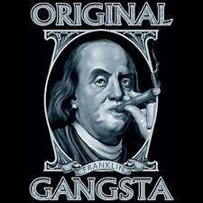 original gangsta benjamin franklin funny t shirt all sizes amp original gangsta benjamin franklin funny t shirt all sizes amp colors 3004
