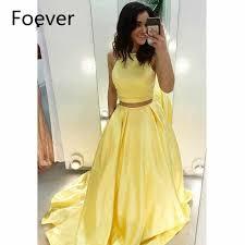 <b>2019</b> Black <b>Two Pieces Prom</b> Dresses Jewel Neck Illusion Long ...