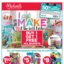 michaels flyer ottawa on com michaels weekly make it the best easter flyer