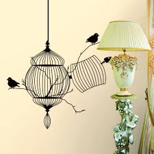 wall decal family art bedroom decor  removable wallpaper x tree birds home bedroom