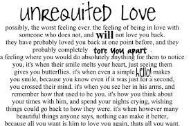 Unrequited love…the cruelest version of love there is ... via Relatably.com