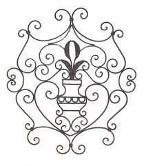 wrought iron scroll wall  images about wrought iron wall decor on pinterest wrought iron scroll