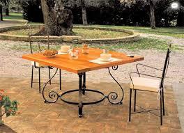 Tavolo Da Terrazzo In Legno : Tavoli e sedie da giardino in metallo ferro