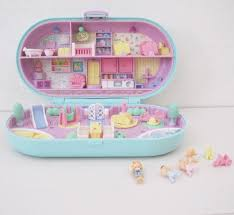 polly pocket compact vintage bluebird stamper babysitting 128270zoom