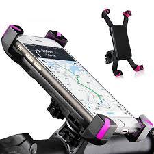 <b>Universal Bike Bicycle</b> Motorcycle Handlebar Clip Stand <b>Phone</b> ...