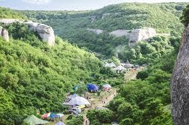 Фестиваль Sun Spirit в крымском ущелье Черкез-<b>Кермен</b> ...