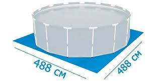 <b>Bestway 58003</b>, <b>подстилка</b> под бассейны надувные, каркасные ...