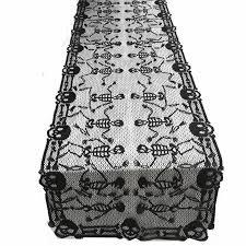 <b>Halloween Party</b> Dress Up Tablecloth Long Square <b>Lace</b> Tablecloth ...