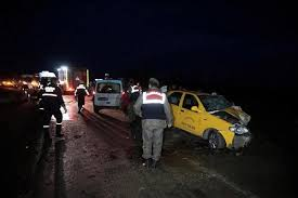 Tekirdağ'da iki araç çarpıştı: 7 yaralı