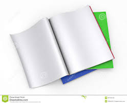 magazine blank page template royalty stock photo image magazine blank page template