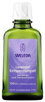 Масло для тела <b>Weleda Лавандовое расслабляющее</b> — купить ...