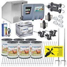 VOSS.farming Starter Kit for Horse/Pony <b>Fence</b>, 12 Volt for <b>400</b> ...