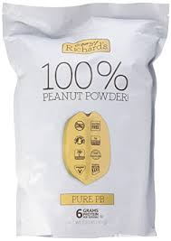 Crazy Richard's <b>Pure</b> PB, 100% <b>Natural Peanut Powder</b>, Non-GMO