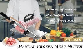 BAOSHISHAN <b>Manual</b> Frozen Meat Slicer <b>Household</b> Slicing ...